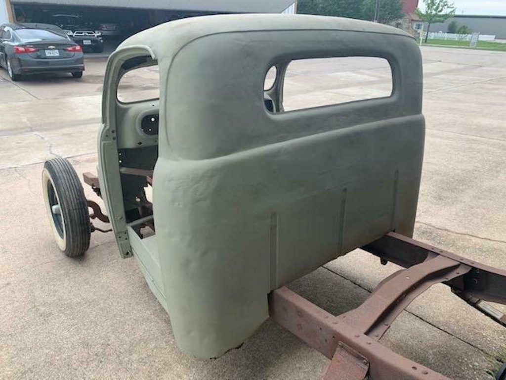 project 1948 Ford F 100 Hot Rod