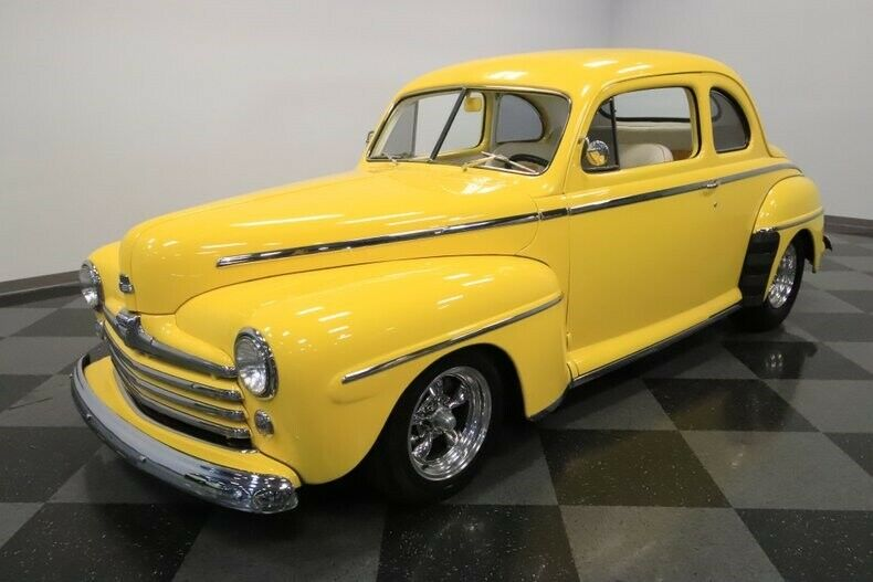 stroker powered 1947 Ford Coupe hot rod