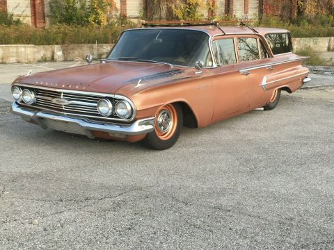 low miles 1960 Chevrolet Impala Kingswood hot rod for sale