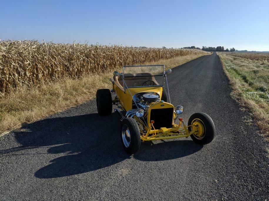 new tires 1923 Ford Model T hot rod