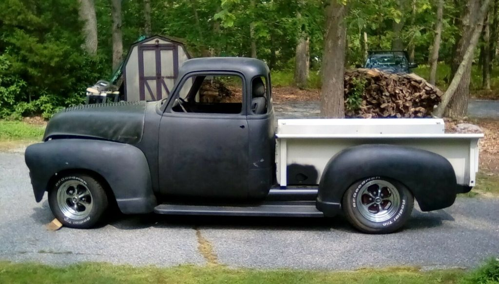 project 1954 Chevrolet Pickup 3100 hot rod