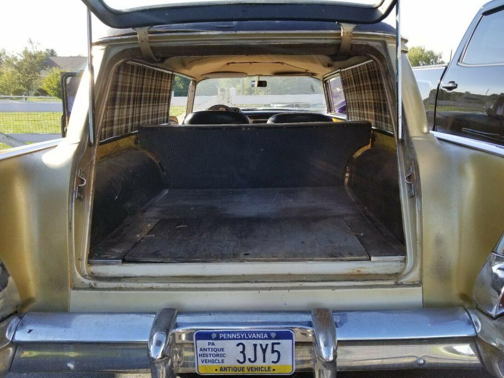racer 1957 Chevrolet Bel Air/150/210 Sedan Delivery hot rod