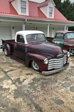 Short Bed Badass 1954 Chevy 3100 hot rod for sale