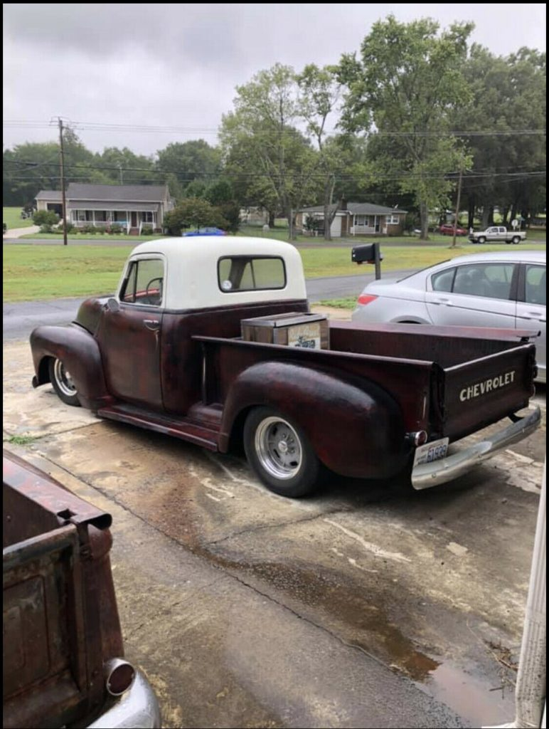 Short Bed Badass 1954 Chevy 3100 hot rod