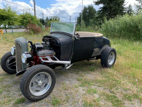 solid 1929 Ford Model A hot rod for sale