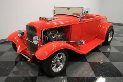big block 1932 Ford Model A Roadster hot rod for sale