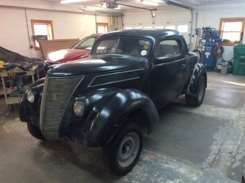 racer project 1937 Ford Standard hot rod for sale