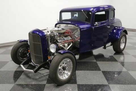 restored and upgraded 1932 Ford 5 Window Coupe hot rod for sale