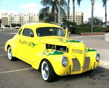 badass 1939 Dodge Coupe hot rod for sale