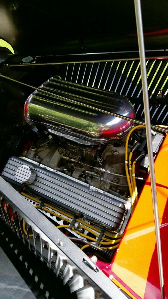 fully detailed 1934 Ford Model 40 hot rod