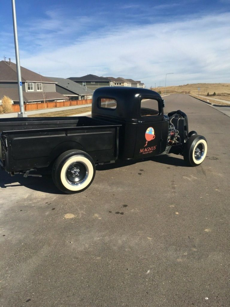 just finished 1935 Chevrolet Pickup hot rod