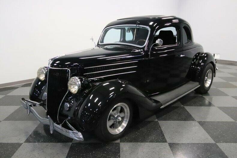 restomod 1936 Ford 5 Window hot rod