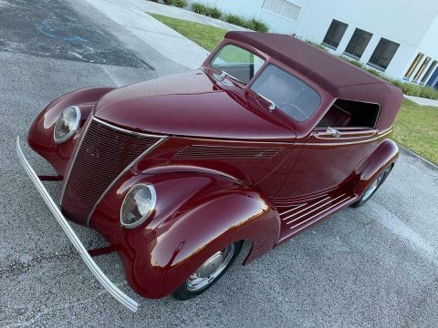 Restomod 1937 Ford Supercharged hot rod for sale