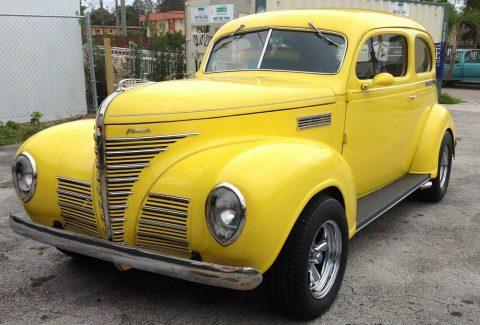 restored 1939 Plymouth hot rod for sale