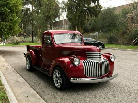 restored 1946 Chevrolet C/K Pickup 1500 hot rod for sale