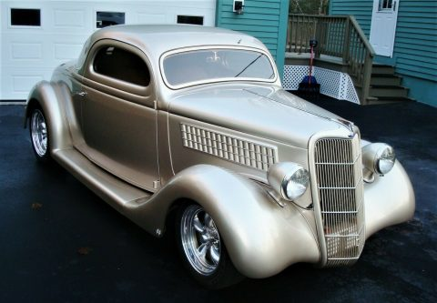 sharp 1935 Ford 3 Window Steel Hot Rod for sale