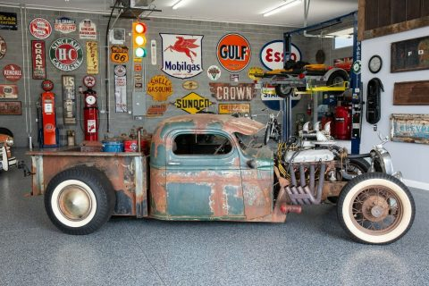 detailed 1949 Chevrolet Pickup hot rod for sale