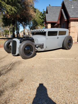 new crate engine 1928 Ford Model A TUDOR hot rod for sale