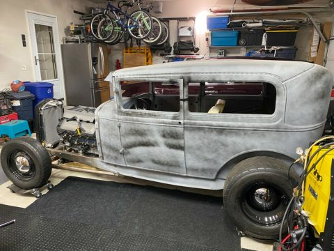 project 1930 Ford Model A Tudor hot rod for sale