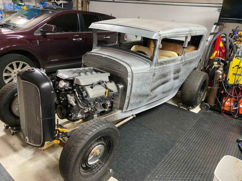 project 1930 Ford Model A Tudor hot rod