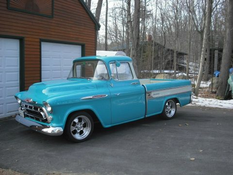 restomod 1957 Chevrolet Pickup hot rod for sale