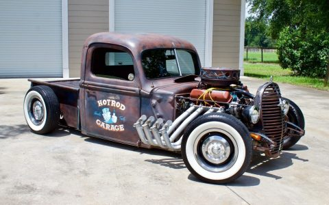 rusty patina paint 1940 Ford Pickup hot rod for sale