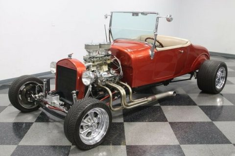 small block 1927 Ford T Bucket hot rod for sale