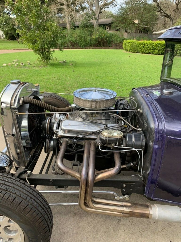 Vortec engine 1929 Ford Model A hot rod