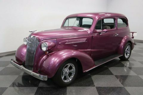 well modified 1937 Chevrolet Deluxe hot rod for sale
